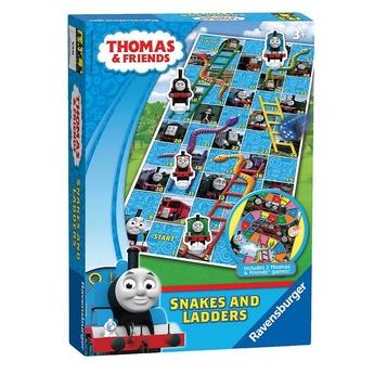 Игрален комплект Thomas & Friends, 2 игри в 1, Snakes & Ladders Game от Ravensburger