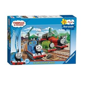 Пъзел Влакчето ТОМАС макси 16ч., Thomas & Friends My first floor puzzle, 070503