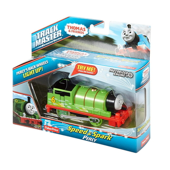 Влакче ПЪРСИ Thomas & Friends Motorized Percy Speed & Spark от серията TrackMaster, DVG05
