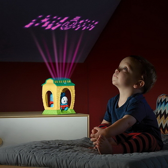 Забавна играчка-прожектор Thomas & Friends, My First Get Up & Glow Thomas Night Light, FFX55