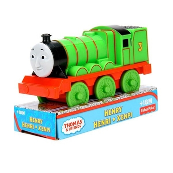 Влакче ХЕНРИ, Thomas & Friends Preschool HENRY от серията Free Wheeling Engine, Y3765