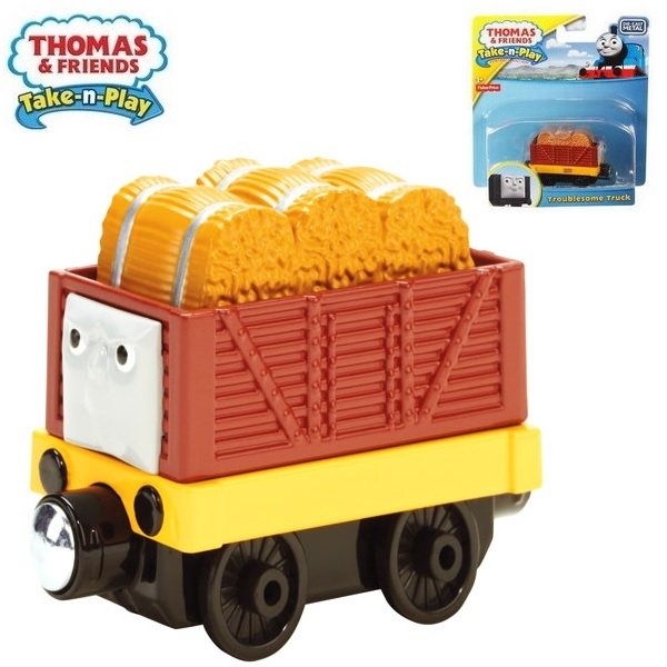 Fisher-Price Thomas /& Friends Take-n-Play Troublesome Truck Fisher Price BFW74
