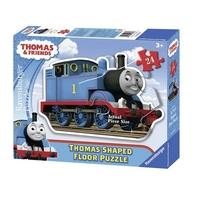 Пъзел Влакчето ТОМАС макси 24ч., Thomas & Friends Shaped floor, 053728