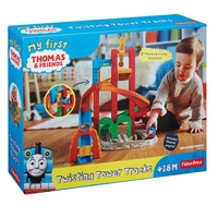 Игрален комплект Thomas & Friends, My First Twisting tower track, Pre-School, Fisher Price, BCX81