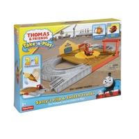 Игрален комплект Thomas & Friends Salty's Flip Track set от серията Take-n-Play, BCX19