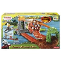 Игрален комплект Thomas & Friends Daring Dragon Drop от серията Take-n-Play, Fisher Price CDN09