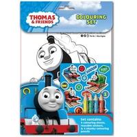 Рисувателен комплект за оцветяване Thomas & Friends THCST