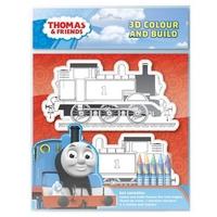 Рисувателен комплект за сглобяване и оцветяване Thomas & Friends THPOP