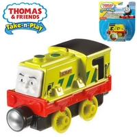 Влакче СКРУФ Thomas & Friends SCRUFF от серията Take-n-Play, Fisher Price CDV06